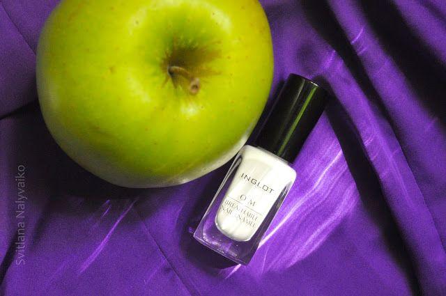 Svitlana Nalyvaiko: Белый, но не пушистый. Лак для ногтей Inglot O2M Breathable…