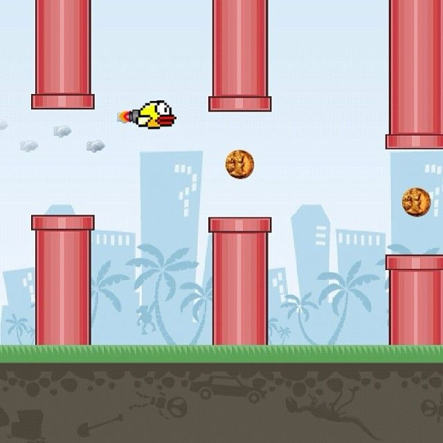 How about a Flappy Bird character with a jetpack? Imagine how fast it would go!  Coming soon to the App Store! Make any character / Avatar you want! Similar style to Flappy Bird, but with the truly unique feature of making any character you want! Will you be able to beat the high score with your own personal Avatar character? #flyingavatar > #flappybird #highscore #games #funapp #freeapp http://www.flyingavatar.com