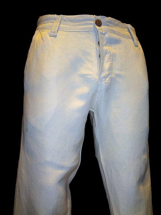 Les 25 Meilleures Idées De La Catégorie Pantalon Lin Homme Sur
