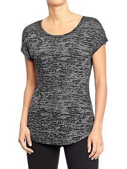 Women's Old Navy Active Burnout Tees | Old Navy CA$18.94 on sale CA$10.00