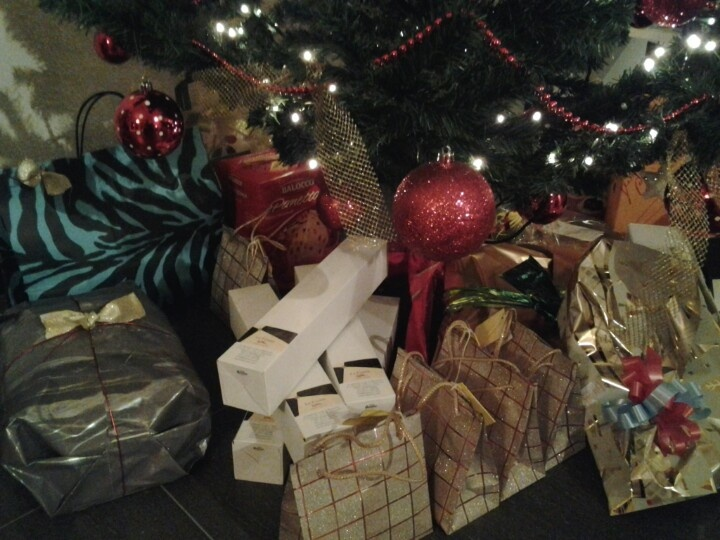 Tanti piccoli regali tra cui il Passito di Moscato di Moscato #lafusina