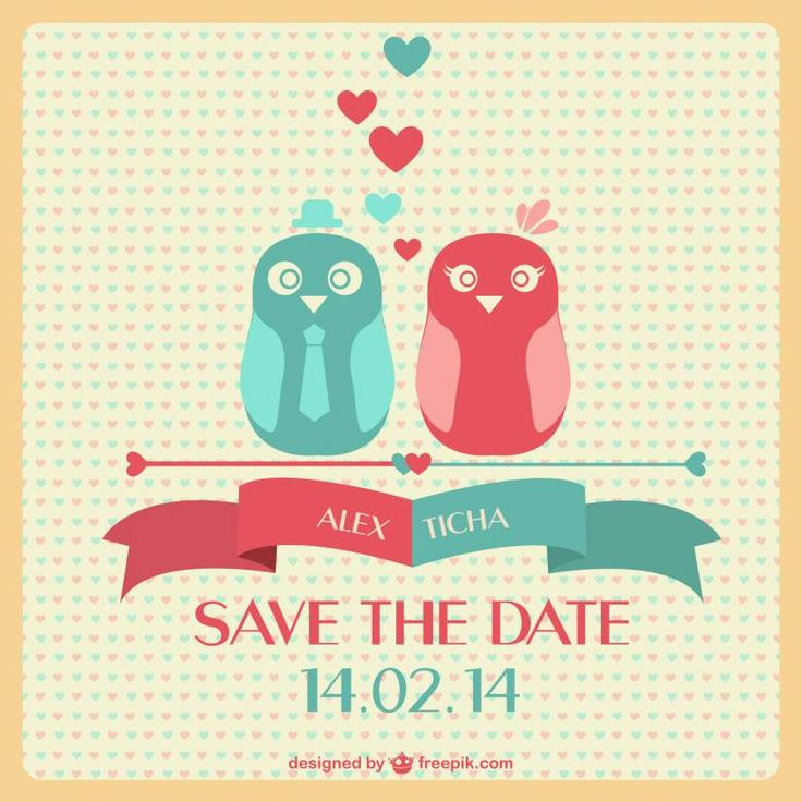 Download gratis save the date