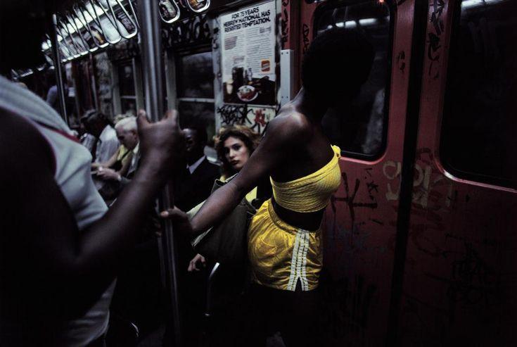 NYC Subway, 1980 by Bruce Davidson