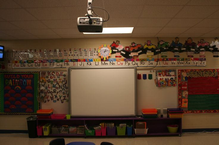 Kindergarten Calendar For Promethean Board : Centers for pre kindergarten classrooms front of room