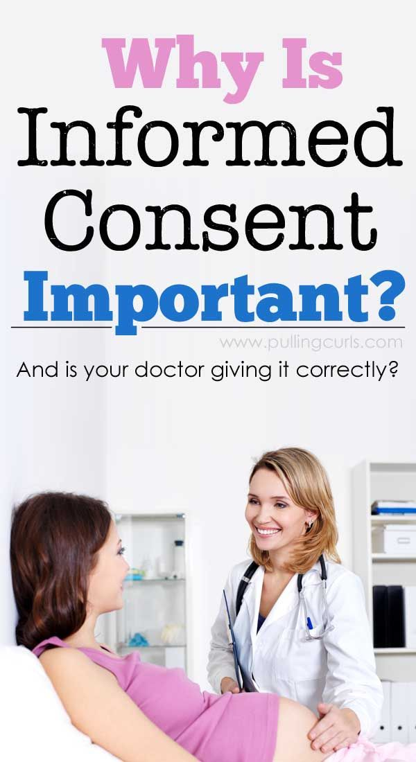 What is informed consent, and why would it be important in your life, be in pregnancy, immunizations or for the care of a loved one? Doctors are required to give informed consent before any procedure, etc. But, is yours doing it right? You should always feel fully informed and have all your questions answered. THAT is how you know you have a good doctor!