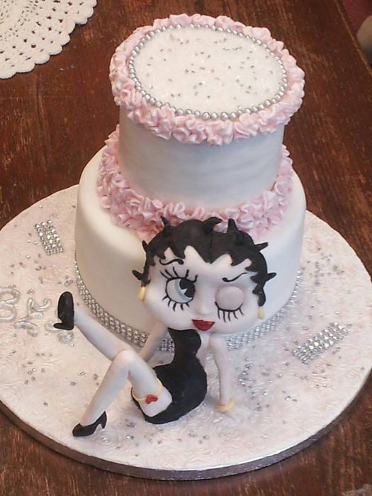 Picture Of A Betty Boop Cake