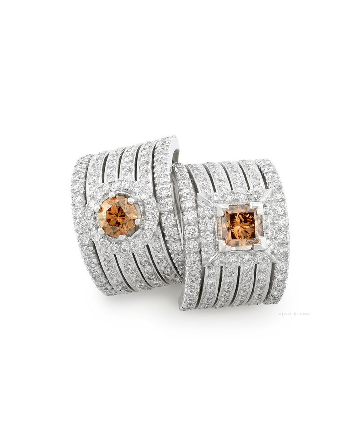 Autumn Glow - the stunning Cary 18ct Gold and Diamond Ring – Jenna Clifford