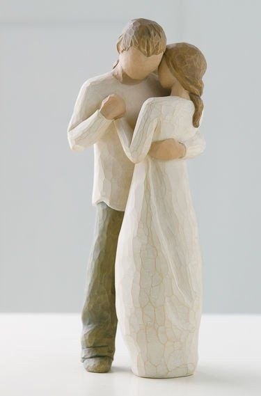 Promise - Willow Tree Figurine - The Shabby Shed  Sentiment: Hold dear the promise of love
