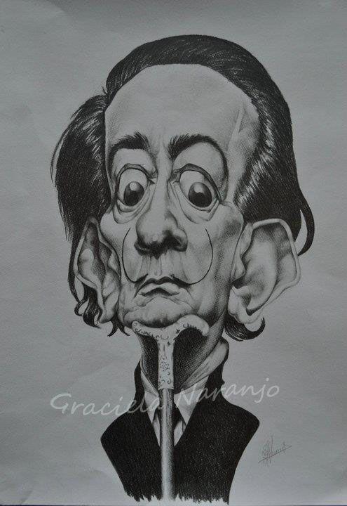 Salvador Dalí Técnica: lápices B2, al B8