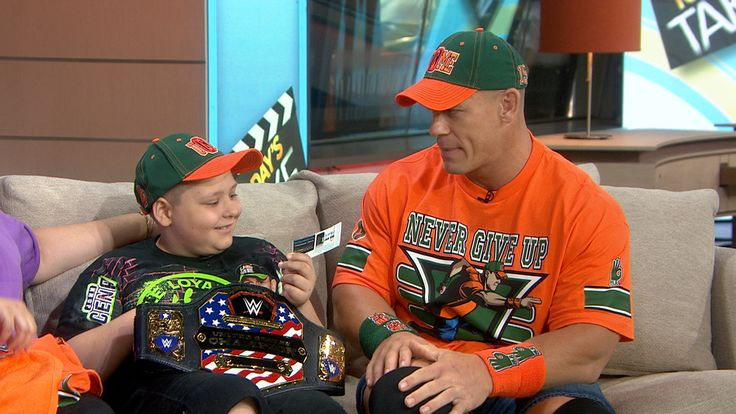 What a guy! Watch John Cena reveal plan for his 500th Make-A-Wish request