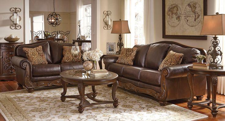 Durablend Leather Sofa