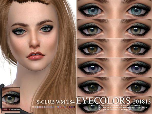The Sims 4 S-Club WM ts4 Eyecolors 201813   Sims 4 genetics