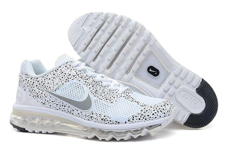 Nike Air Max 2013 CAMO Männer Weiß Grau
