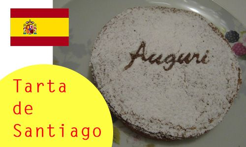 tarta de santiago: la ricetta della famosa torta spagnola