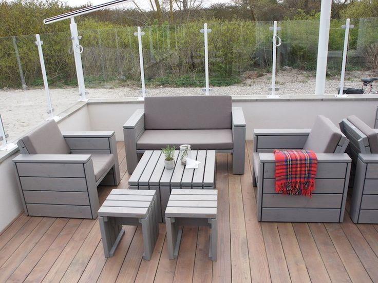 Loungemöbel holz outdoor  7 best Loungemöbel 1-4 - heimisches Holz - Made in Germany images ...