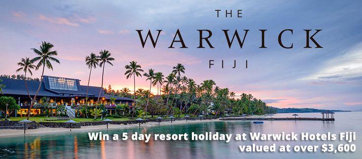 Win a holiday in Fiji!