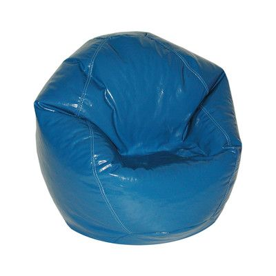 Zipped Bean Bag Chair Upholstery: Nautical Blue - http://delanico.com/bean-bag-chairs/zipped-bean-bag-chair-upholstery-nautical-blue-725830073/