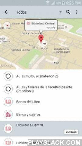 Descubre PUCP  Android App - playslack.com ,  Descubre PUCP es la primera aplicación móvil desarrollada por la PUCP. Es liviana, rápida y sólo necesitas una conexión a Internet.Descubre PUCP ha sido diseñada para brindar información relevante sobre lugares y eventos dentro del campus de la Pontificia Universidad Católica del Perú. Esto es posible mediante el uso de tecnologías de geolocalización y realidad aumentada, las cuales han sido aplicadas por el equipo de la Dirección de Informática…