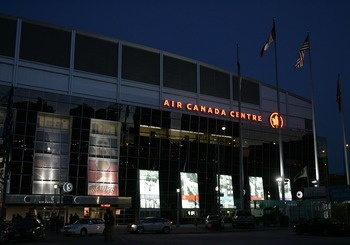 Air Canada Centre, Toronto Maple Leafs #hockey