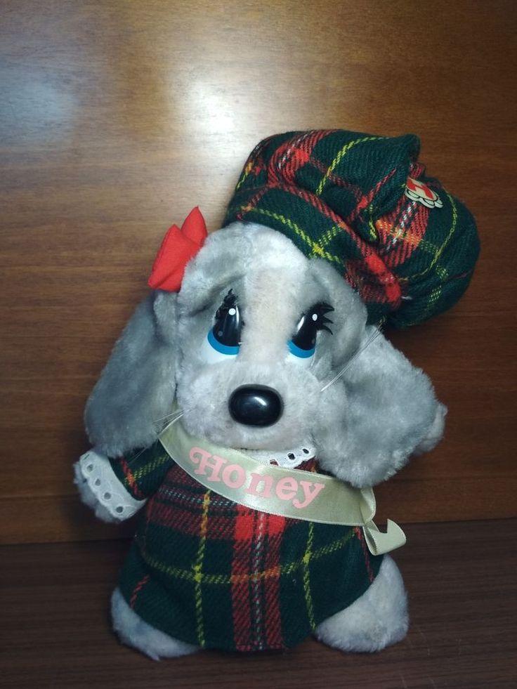 Vintage Sad Sam Honey Plush Doll  by Applause 1987 #Applause
