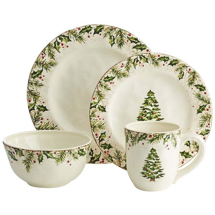 winter39s wonder dinnerware from pier 1 imports not sold - Christmas China Sets