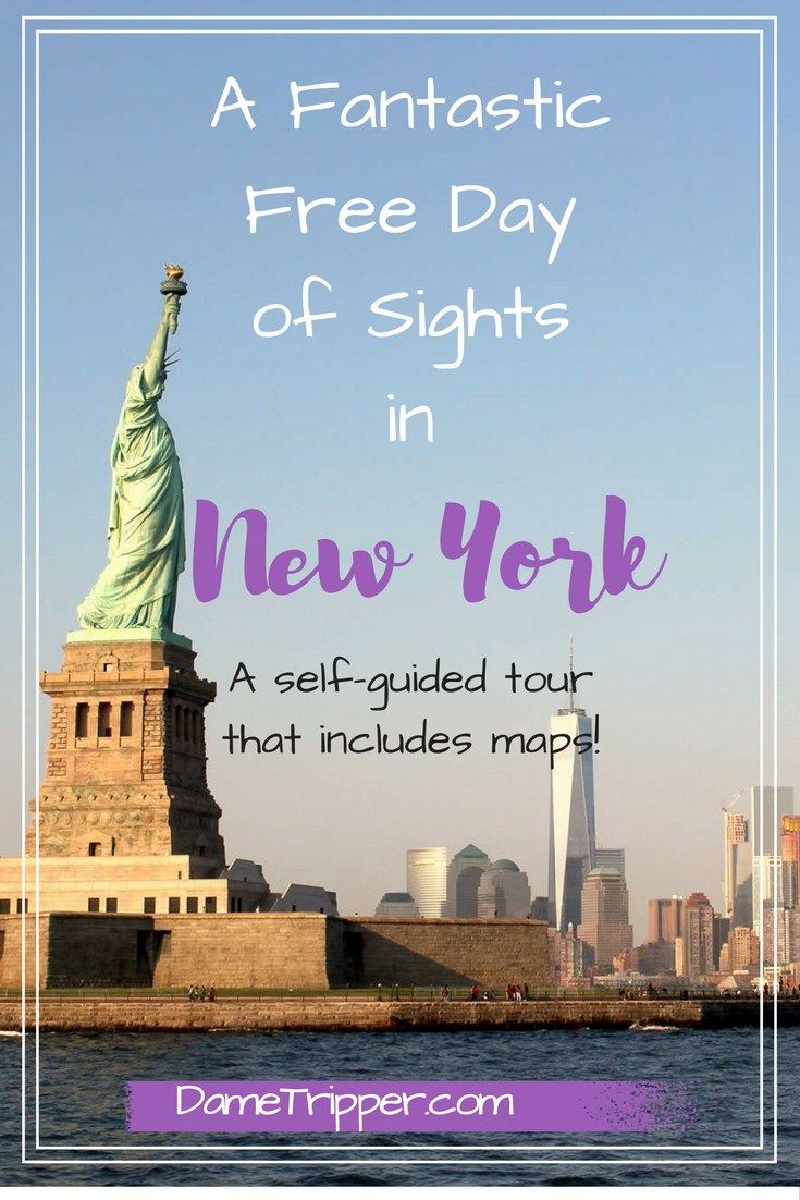 New York is not cheap, which is not exactly shocking news. If it's your first time in the city, it can be overwhelming to figure out trains, directions and how best to spend an afternoon. Not to fear, I did it for you! This itinerary gives you an exact route to follow for for 8 free sights in New York City!