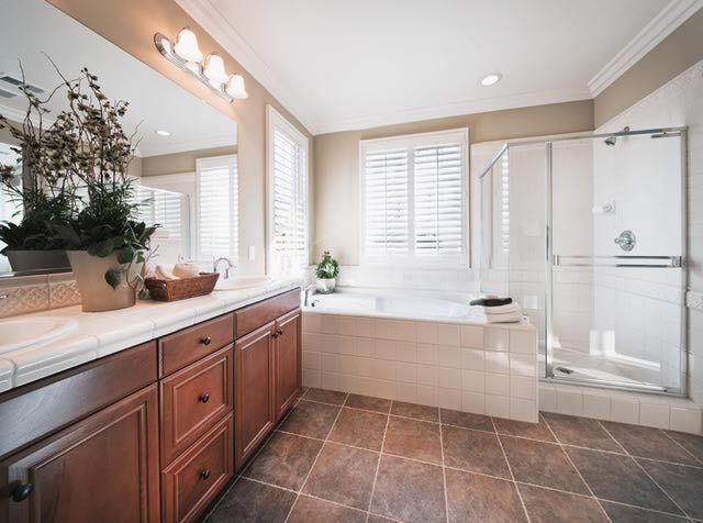 Gallery For Website Explore Bathroom Flooring Options Hardwood Plank Flooring Hardly the Best Bathroom