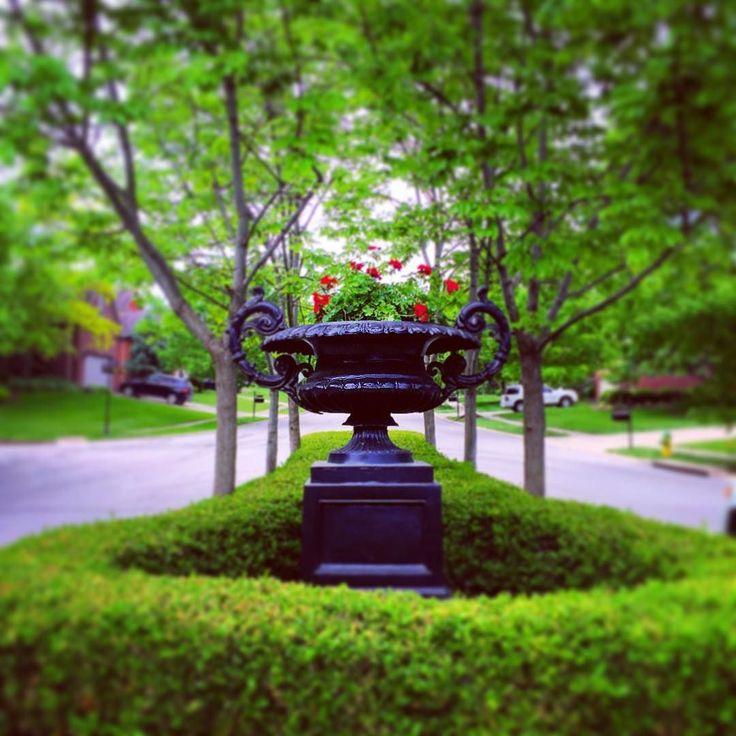 #kentucky #flowers #gardens #landscapersofinstagram #sharethelex #urns