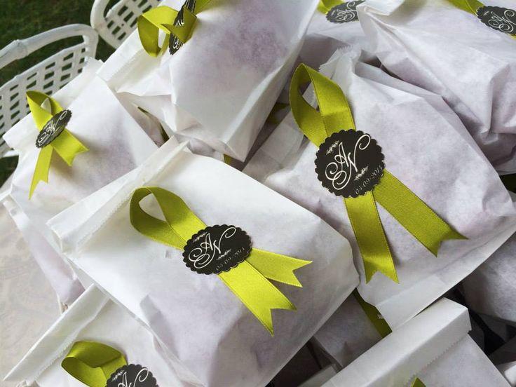 sacchetti lancio riso e petali
