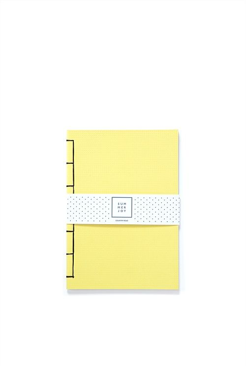 Country Road - Deboss A5 Notebook