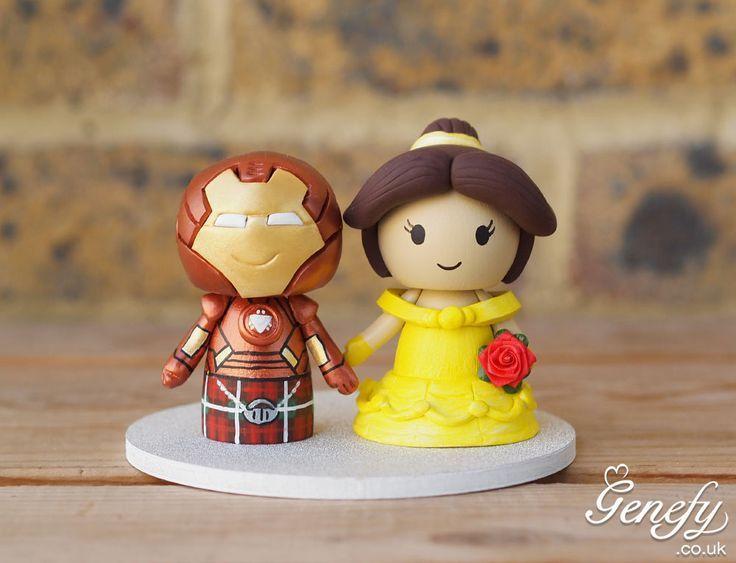 Casamento nerd noivinhos para bolo de casamento