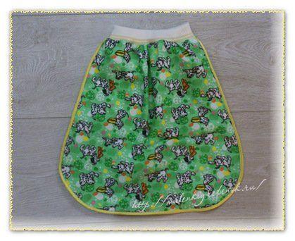 Пополняем нашу копилочку спальников и сегодня посмотрим, как сшить спальный мешок для новорожденного, который одевается только на ножки. Прекрасная альтерн