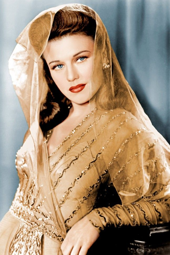 37. Ginger Rogers, 1942 Ginger knew all about the power of embellishment. This was her official portrait taken by Paramount Studios.