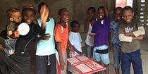 """Le Centre """"Sport pour l'espoir"""" suscite de nouvelles passions chez les jeunes Haïtiens"""