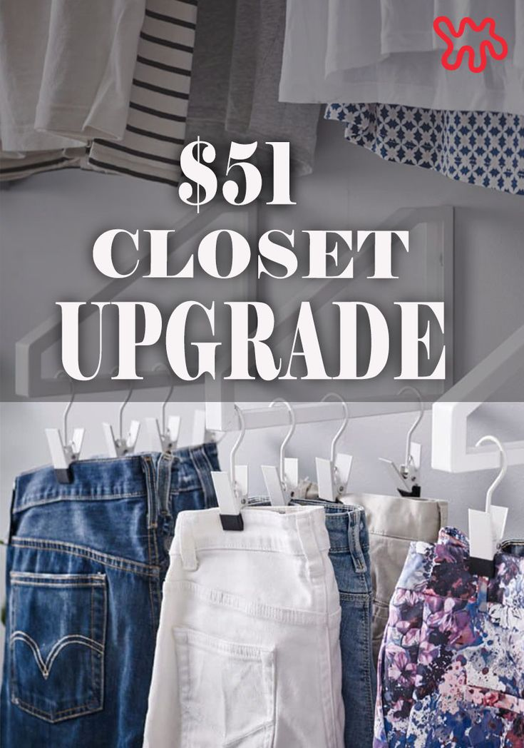 Amazing Double Your Closet Space On A Budget