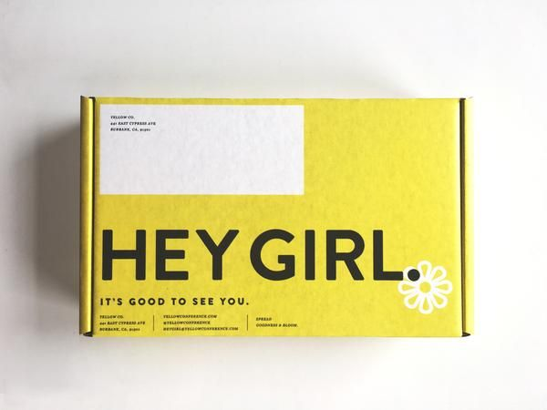 Yellow Co. Empowerment Box  / HEART