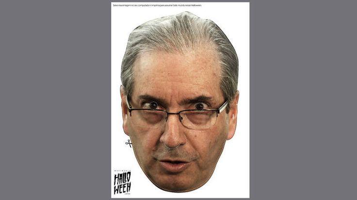 Site cria máscaras de políticos do Brasil para o Halloween