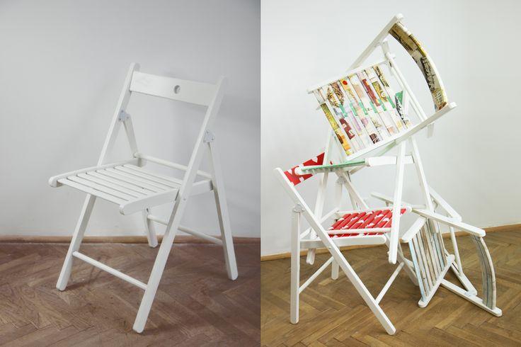 Białe krzesło, nudne krzesło? Nie z d-c-fix!