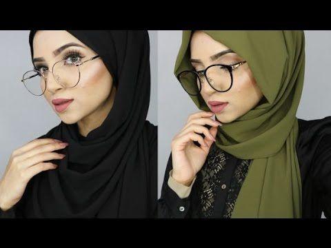 Hijab Tutorial For Glasses | Hijab Fashion Inspiration