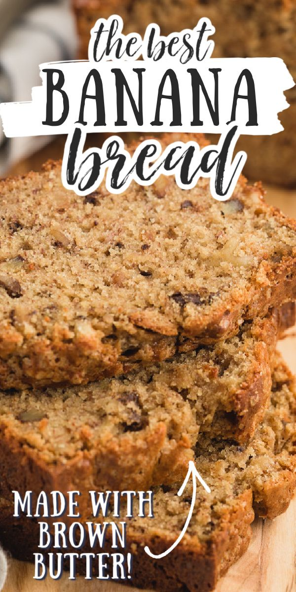 Brown Butter And Sour Cream Banana Bread Recipe In 2020 Sour Cream Banana Bread Cooking Recipes Brown Butter