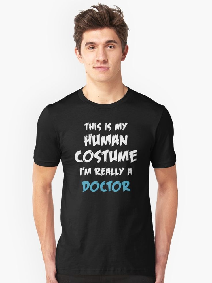 Last minute Halloween costume for halloween party or trisk-or-treating. Are you really a Doctor? Then this is the right costume for you! • Also buy this artwork on apparel.