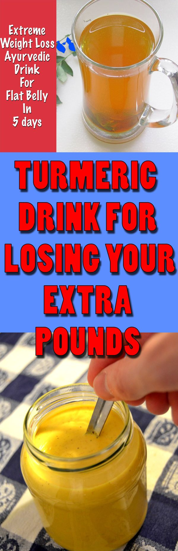 Turmeric Drink for Losing Your Extra Pounds #lose #weight #loseweight #turmeric #lose extraweight #howtoloseweightfast