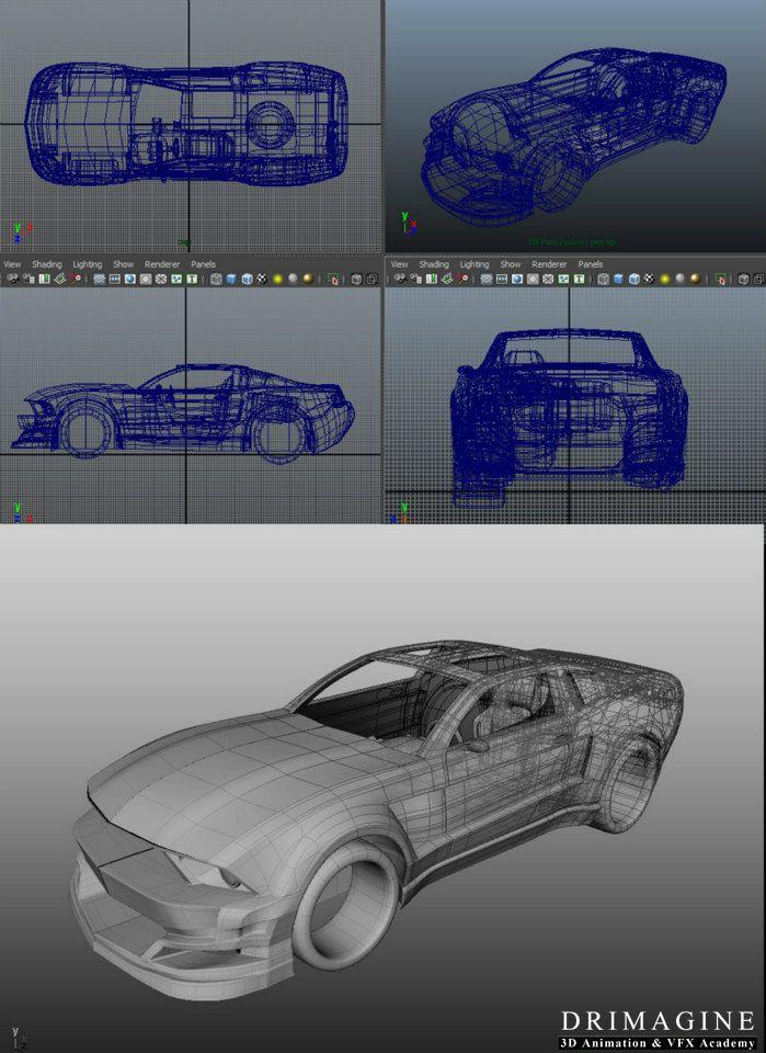 #tworzenie #car #kultowesamochody #maya #Autodesk #kurs3D #AkademiaAnimacji3D #Drimagine