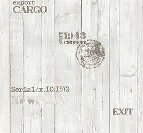 Vliesová tapeta, drevo svetlo hnedé, Einfach Shöner 236410, P+S International, rozmer 10,05 m x 0,53 m