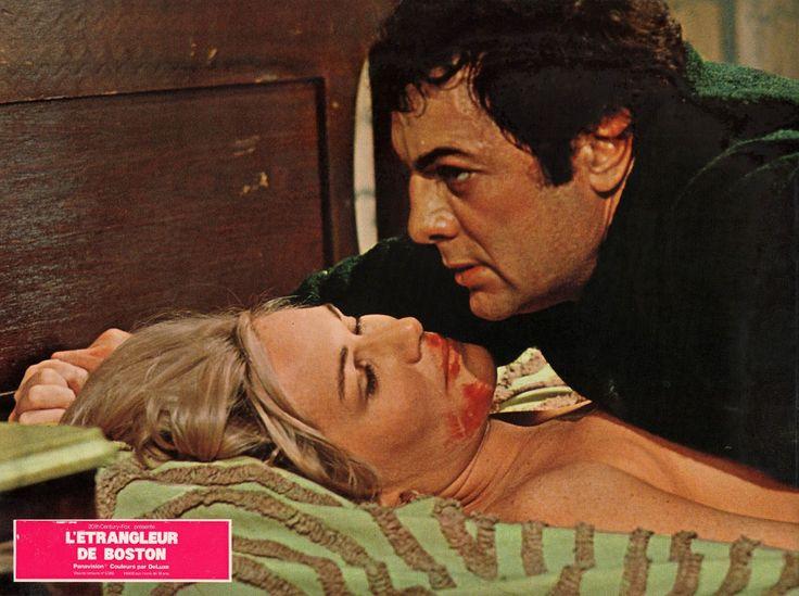 Sally Kellerman as Dianne Cluny, and Tony Curtis as Albert DeSalvo [The Boston Strangler, 1968]