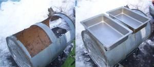 DIY Maple Sugaring Syrup Evaporator