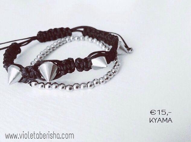 Spikes bracelet #spikes #bracelet