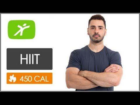 Desafio de HIIT - Treino para Perder Barriga e Afinar Cintura - Queime 450 kcal - Intermediário #21 - YouTube