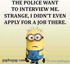 #Funny #Minions #Joke About Job ft. Police