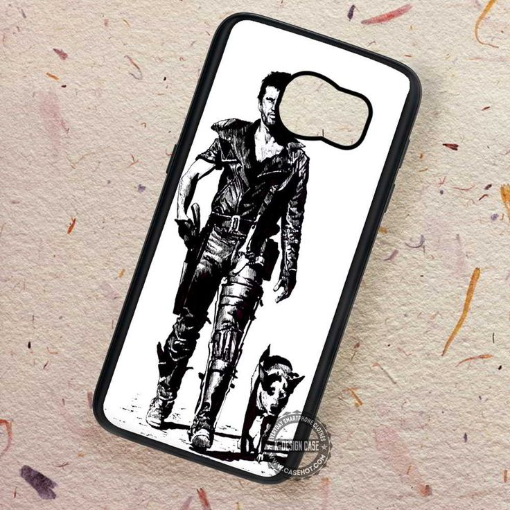 Mad Max Mel Gibson Terminator Movie - Samsung Galaxy S7 S6 S5 Note 7 Cases & Covers